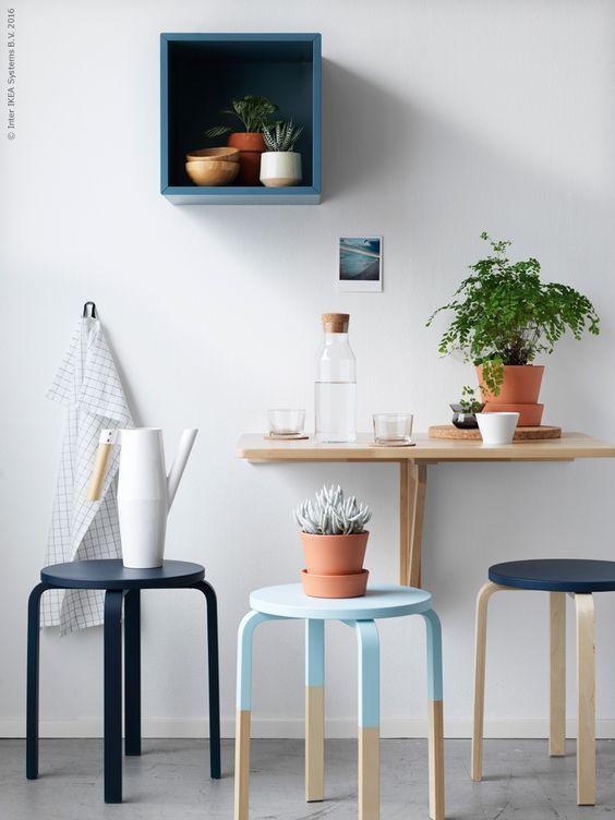ideias cozinha pequena mesa
