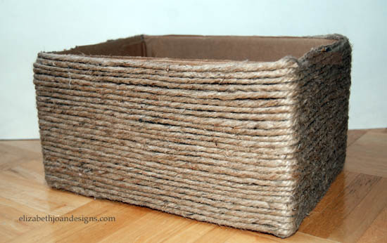 caixa organizadora papelao reciclado