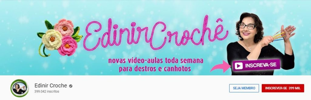 Edinir Croche Youtube